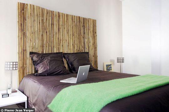 Idées de têtes de lit originales prêtes à poser - Déconome