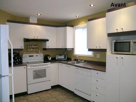 cuisine avant with relooker cuisine formica. Black Bedroom Furniture Sets. Home Design Ideas