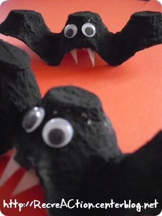 Id es d co simples et rapides pour halloween d conome for Deco halloween chauve souris