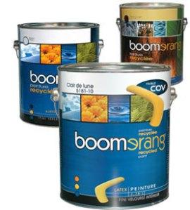 peinture Boomrang décoration éco responsable