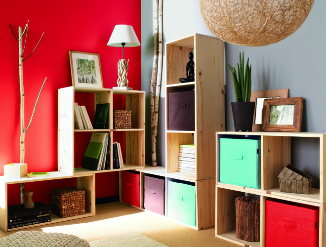 biblioth ques modulaires pas ch res d conome. Black Bedroom Furniture Sets. Home Design Ideas