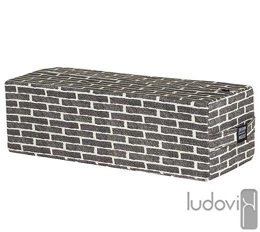 coussin brique - Ludovik
