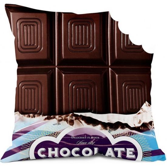 Chocolat croqué - Bonjour mon coussin