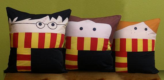 Coussin Harry Potter - Pantoufle de Verre