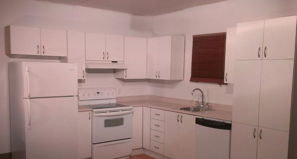 Transformer facilement des armoires de cuisine en m lamine d conome - Combien coute une chambre a air de velo ...