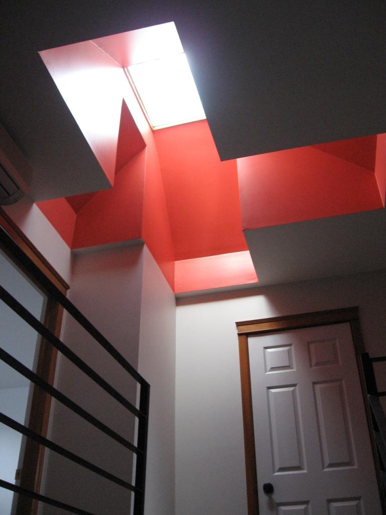 Puits de lumière cage escalier