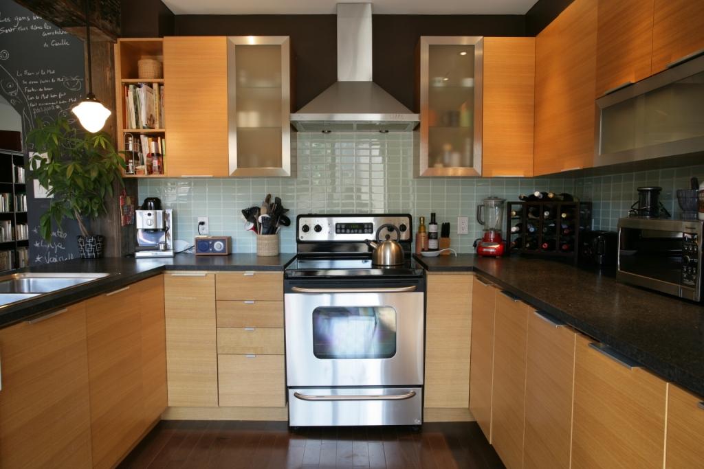 Cuisine comptoirs granite antique