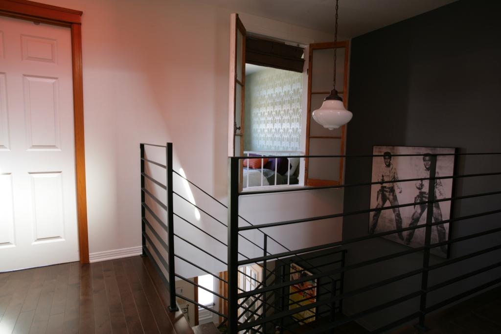 cage escalier fer forgé