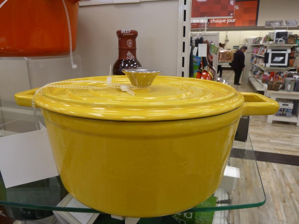 creuset jaune HomeSense